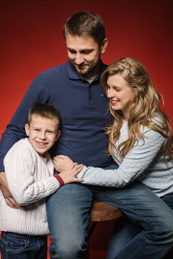 Костя, Лена и Дима